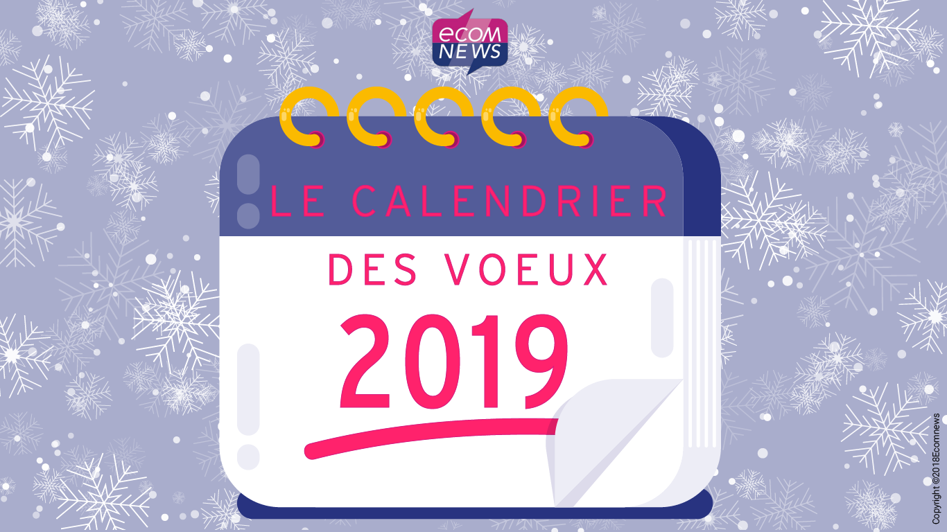 Calendrier Paul Valery.Ecomnews Voeux 2019 Ecomnews Vous Liste Le Calendrier