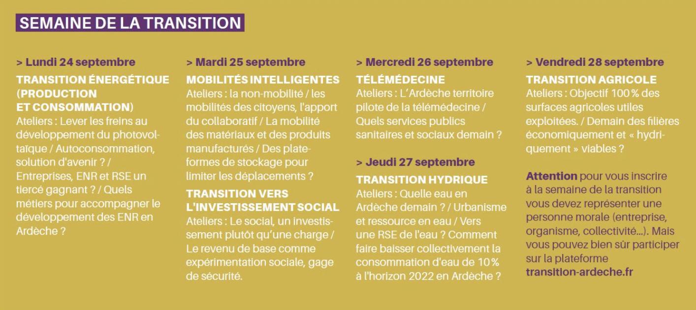 Ecomnews Semaine De La Transition En Ardèche Comment Construire